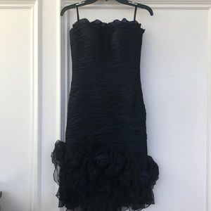 Jovani strapless dress size 4